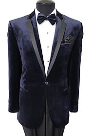 Wear The Designer And Smooth Men Velvet Jacket