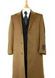 Warm And Comfortable Mens Camel Coats- MensUSA