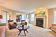 Stylish Family Room Custom Homes by EGStoltzfus
