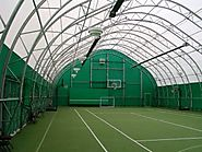 Construct Shaded Outdoor Structures For Sport Court
