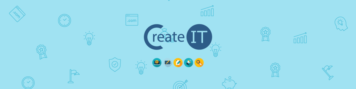 Headline for CreateIT - Full Service Digital Intelligence Agency