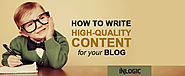 Latest Tips For Writing Quality Blog Post BY SEO Agency Dubai