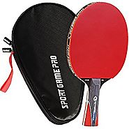 Sport Game Pro Ping Pong Paddle with Killer Spin – Table Tennis Paddle with Comfort Grip 2.0 mm Spunge – Table Tennis...