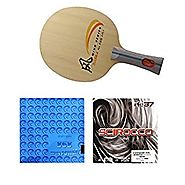 DHS SR-A +Kokutaku 868 Spin Power + Air Scirocco power Table Tennis Racket