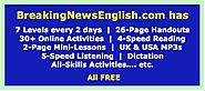 Breaking News English - Easier News Lessons