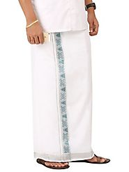 NO 5265 Fancy Border Double Dhoti