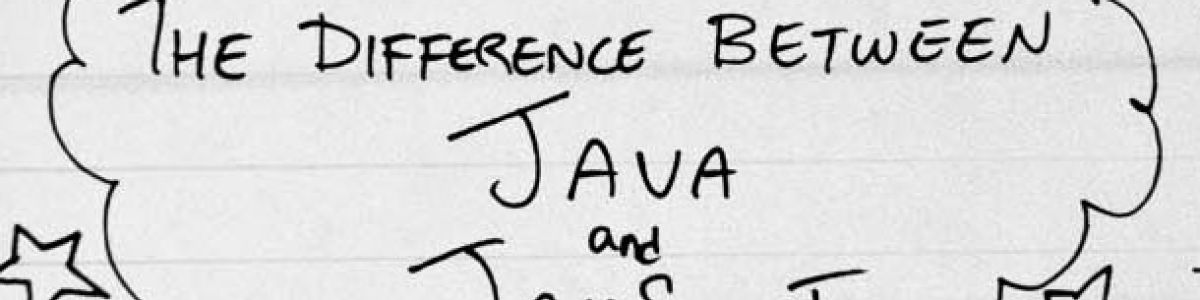 Headline for Major Difference Between Java and Javascript