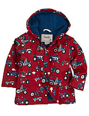 Hatley Boys' Classic Printed Raincoat