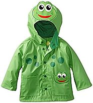 Western Chief Little Boys' Frog Rain Coat