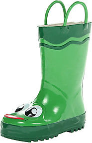 Western Chief Kids Frog Rain Boot(Toddler/Little Kid/Big Kid)