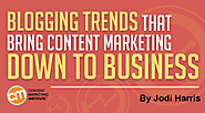 Blogging Trends That Bring Content Marketing Down to Business