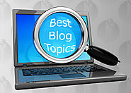 How to research the best topics for your blog