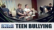 Bullying: Will Teen Boys Speak Up? || STEVE HARVEY