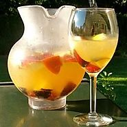 White Peachy Sangria Recipe