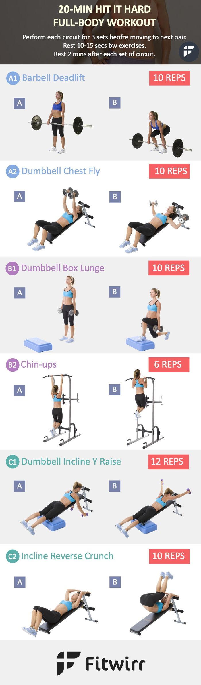 At Home Upper Body Workout With Dumbbells Tone And Tighten