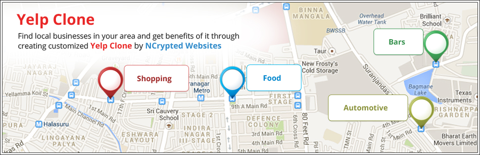 Headline for Yelp Clone | Yelp Clone Script