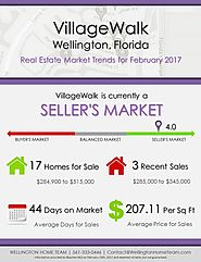 VillageWalk Wellington, FL Real Estate Market Trends | FEB 2017