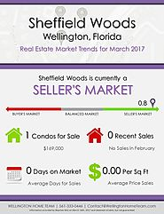 Sheffield Woods Wellington, FL Real Estate Market Trends | MAR 2017