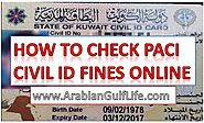 PACi KUWAIT CIVIL ID FINES INQUIRY