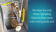 ez water sample stations by American Machine and Conveyer