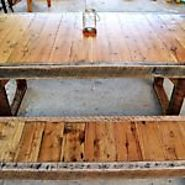 Hand Made Pallet Wooden Farmhouse Furniture