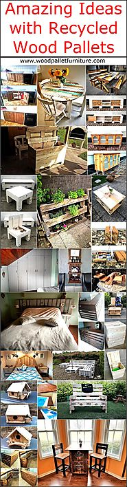 Amazing Ideas with Recycled Wood Pallets