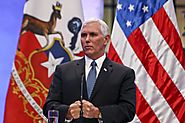 Pence says he stands with Trump but did not defend president's 'both sides' comments on Charlottesville