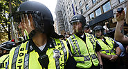 Trump praises officials, knocks 'anti-police agitators' in Boston