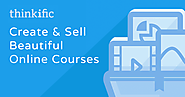 Create, market & sell your own online courses with Thinkific