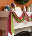 Easy Christmas Decorating with Ribbon