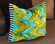 Modern Mermaid Pillow - Aunt Peaches