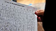 How to Teach the Multiplication Tables to Your Child