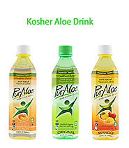 bottle honey aloe vera drink