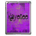 Purple Grunge iPad Cases from Zazzle.com