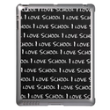 """I Love School"" iPad Cases from Zazzle.com"