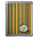 Monogram Stripes iPad Cases from Zazzle.com