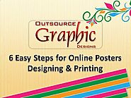 6 Easy Steps for Online Posters Designing & Printing.AVI