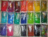 RAINBOW LOOM REFILL RUBBER BANDS & C-CLIPS - 19 COLORS AVAILABLE- FREE SHIPPING