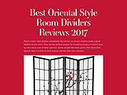 Best Oriental Style Room Dividers Reviews 2017