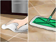 How to Clean Grout Between Floor Tiles