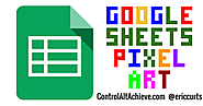 Pixel Art Activities for any Subject with Google Sheets