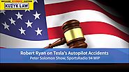 Tesla Accidents Involving Autopilot: Peter Solomon Interviews Car Accident Attorney Robert Ryan