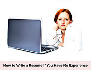 Fresher Resume Guide: How to Write a Resume If You Have No Experience - Resumonk Blog
