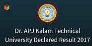 Dr. APJ Kalam Technical University Declared Result 2017