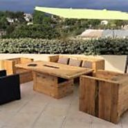 Wood Pallet Recycled Outdoor Furniture
