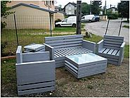 Shipping Pallets Recycled Outdoor Furniture