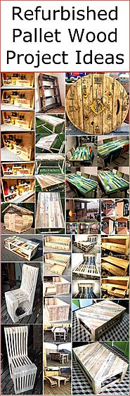 Refurbished Pallet Wood Project Ideas | Wood Pallet Furniture