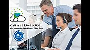 Customer Support for QuickBooks Cloud Errror 1855-481-5338