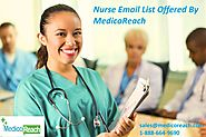 Nurse Email List - Nurses Mailing Addresses - MedicoReach