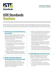 ISTE - STANDARDS FOR TEACHERS